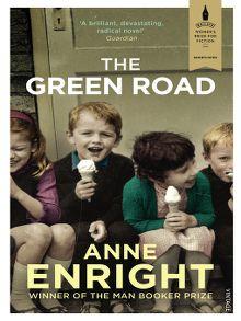 """Buchcover zu """"The Green Road"""" von Anne Enright aus OverDrive"""
