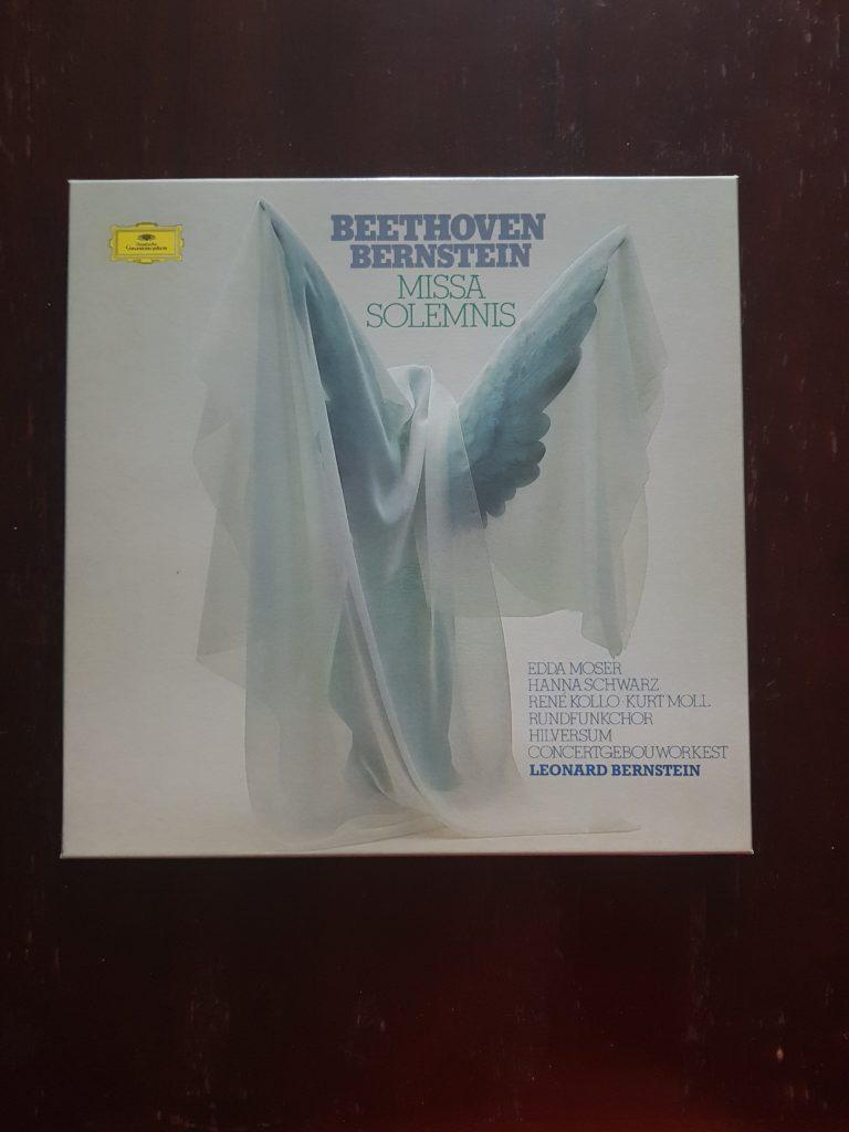 Bild des Schallplattencovers der Missa Solemnis von Ludwig van Beethoven