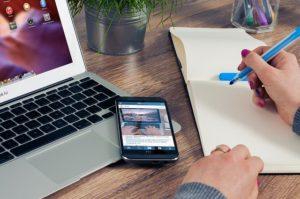 Schreiben digital und analog