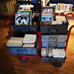 alte Kisten mit Comics & Manga
