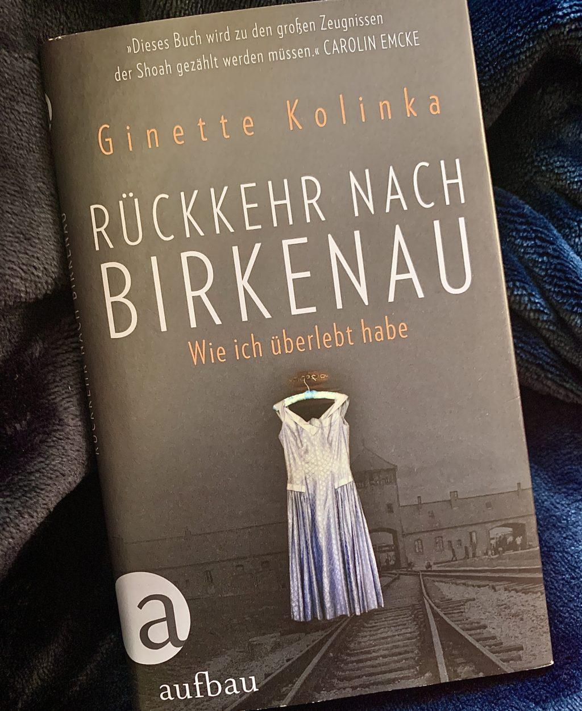 """Buchcover von Ginette Kolinka """"Rückkehr nach Birkenau"""""""