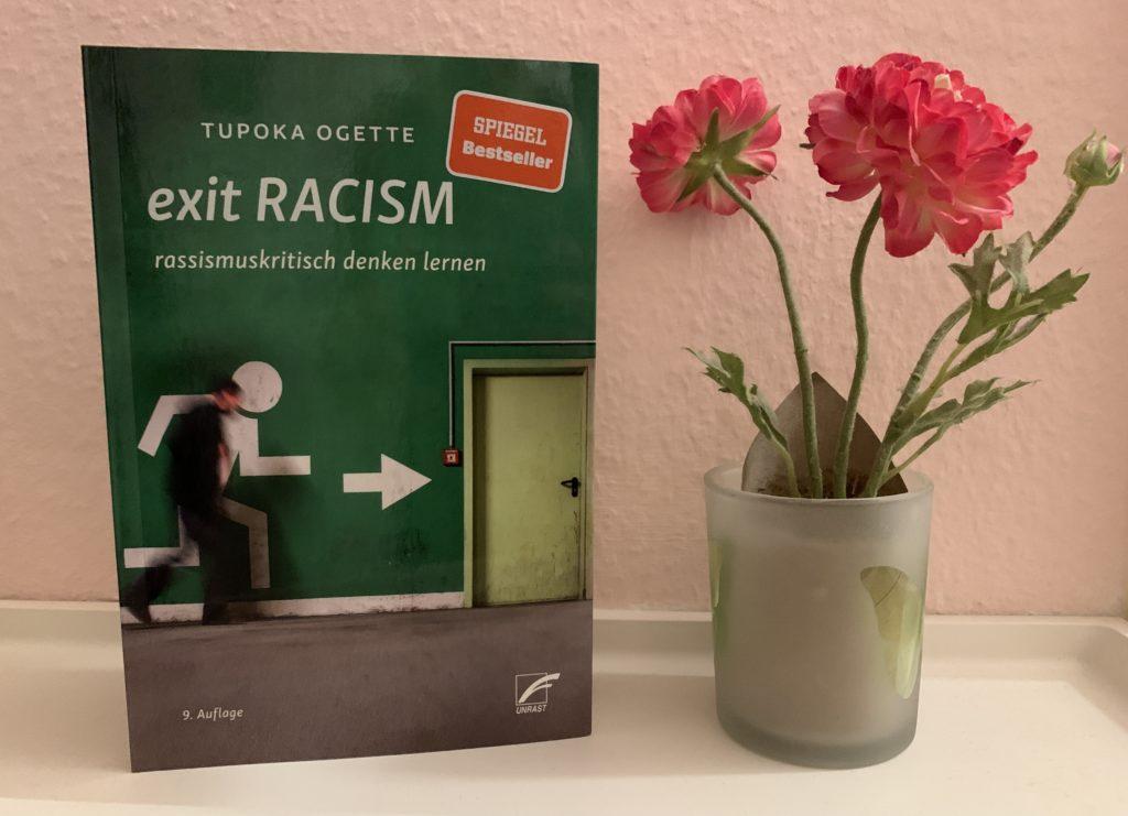 "Buchcover von Tupoka Ogette ""Exit Racism"""