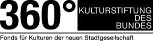 Logo 360 Grad Kulturförderung des Bundes